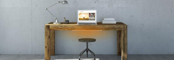 Thuiswerken: bureau verwarming
