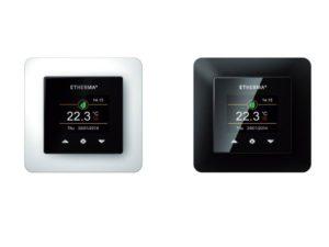 Eenvoudige bedrade thermostaat met weekprogramma - Vind de beste elektrische verwarming of infrarood panelen op Heaterdirect.nl